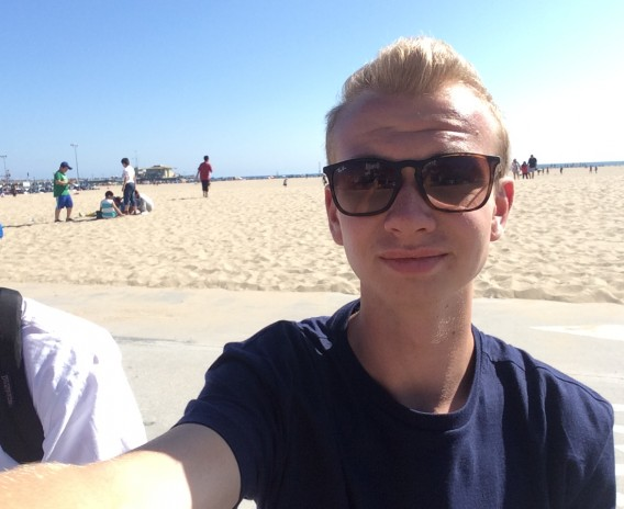 """Los Angeles – drömmarnas stad!"" – Filip, Los Angeles USA"